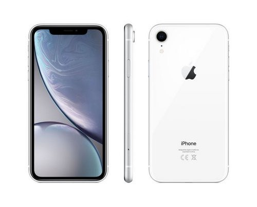 Apple iPhone XR 15,5 cm (6.1 Zoll) 256 GB Dual-SIM 4G Weiß