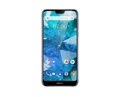 Nokia 7.1 14,8 cm (5.84 Zoll) 4 GB 64 GB Dual-SIM 4G Blau 3060 mAh