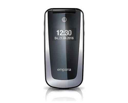 Emporia emporiaSELECT - Klappgehäuse - Single SIM - 6,1 cm (2.4 Zoll) - 2 MP - 1100 mAh - Schwarz