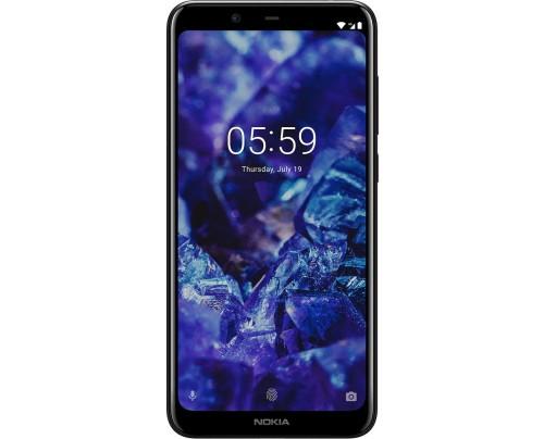 Nokia 5.1 Plus 14,7 cm (5.8 Zoll) 3 GB 32 GB Dual-SIM 4G Schwarz 3060 mAh