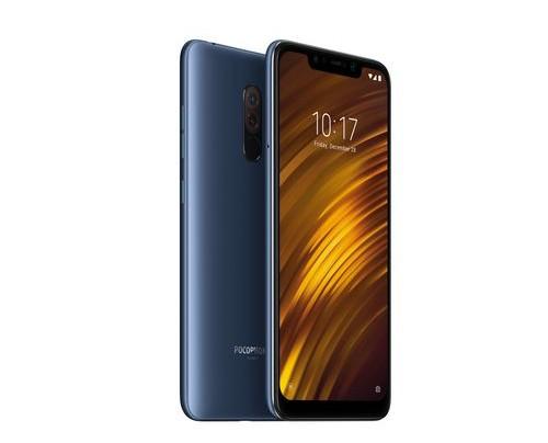 Xiaomi Pocophone F1 15,7 cm (6.18 Zoll) 6 GB 64 GB Hybride Dual-SIM 4G Blau 4000 mAh