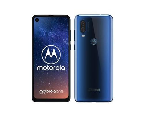 Motorola Mobility Motorola one vision - 16 cm (6.3 Zoll) - 4 GB - 128 GB - 48 MP - Android 9.0 - Blau