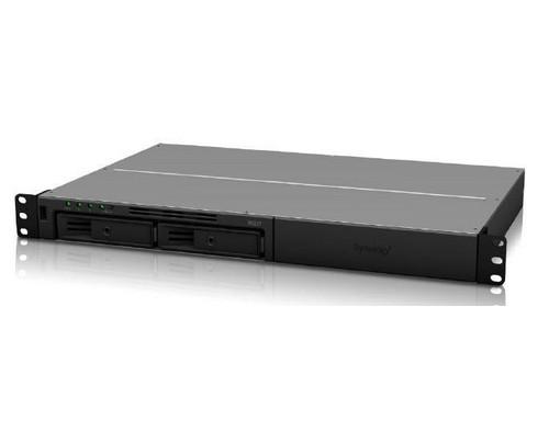 Synology RackStation RS217 NAS & Speicherserver Eingebauter Ethernet-Anschluss Rack (1U) Schwarz