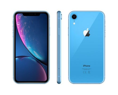 Apple iPhone XR 15,5 cm (6.1 Zoll) 128 GB Dual-SIM 4G Blau