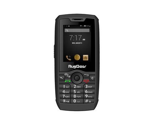 RugGear RG160 6,1 cm (2.4 Zoll) 0,512 GB 4 GB Dual-SIM Schwarz 1800 mAh