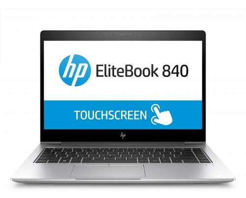 HP EliteBook 840 G5 Silber Notebook 35,6 cm (14 Zoll) 1920 x 1080 Pixel Touchscreen 1,80 GHz Intel® Core i7 der achten Generation i7-8550U 3G 4G
