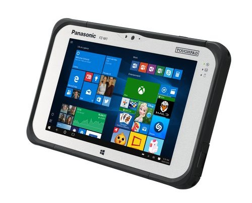 Panasonic Toughpad FZ-M1 MK3 Tablet Intel Core i5 i5-7Y57 128 GB 4G Schwarz, Silber