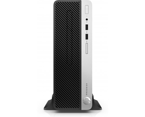 HP ProDesk 400 G5 3,2 GHz Intel® Core i7 der achten Generation i7-8700 Schwarz, Silber SFF PC