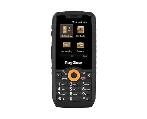 RugGear RG150 0,256 GB 0,5 GB Dual-SIM Schwarz, Orange 1800 mAh