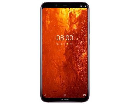 Nokia 8.1 - 15,7 cm (6.18 Zoll) - 4 GB - 64 GB - 12 MP - Android 9.0 - Metallisch - Satinierter Stahl