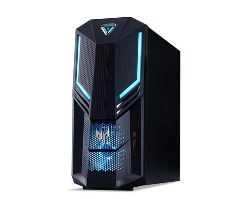 Acer PO3-600 3,2 GHz Intel® Core i7 der achten Generation i7-8700 Schwarz, Blau Tower PC
