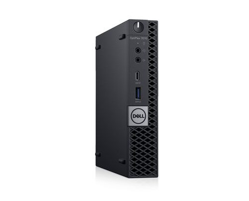 Dell OptiPlex 7070 - Komplettsystem - Core i7 2 GHz - RAM: 8 GB DDR4 - HDD: 256 GB