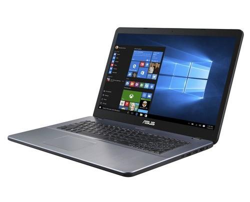 ASUS VivoBook X705UB-GC211T Grau Notebook 43,9 cm (17.3 Zoll) 1920 x 1080 Pixel 1,80 GHz Intel® Core i7 der achten Generation i7-8550U