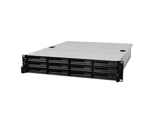 Synology RackStation RS3617RPxs Eingebauter Ethernet-Anschluss Rack (3U) Schwarz NAS