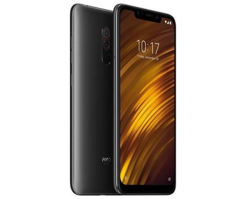 Xiaomi Pocophone F1 15,7 cm (6.18 Zoll) 6 GB 64 GB Hybride Dual-SIM 4G Schwarz 4000 mAh