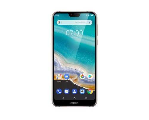 Nokia 7.1 14,8 cm (5.84 Zoll) 4 GB 64 GB Dual-SIM 4G Edelstahl 3060 mAh