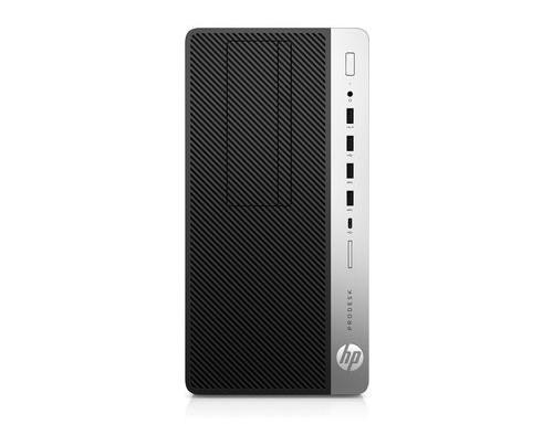 HP ProDesk 600 G4 3 GHz Intel® Core i5 der achten Generation i5-8500 Schwarz, Silber Micro Tower PC