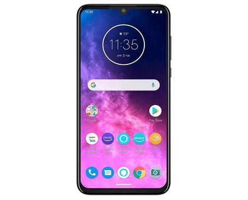 Motorola Mobility Motorola one Zoom - 16,3 cm (6.4 Zoll) - 4 GB - 128 GB - 48 MP - Android 9.0 - Grau