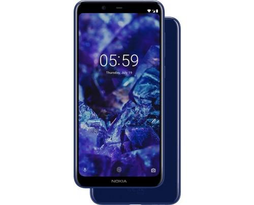 Nokia 5.1 Plus 14,7 cm (5.8 Zoll) 3 GB 32 GB Dual-SIM 4G Blau 3060 mAh