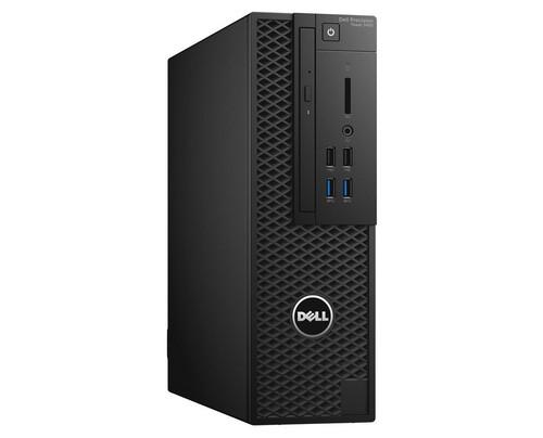 DELL Precision T3420 3,6 GHz Intel® Core i7 der siebten Generation i7-7700 Schwarz SFF Arbeitsstation
