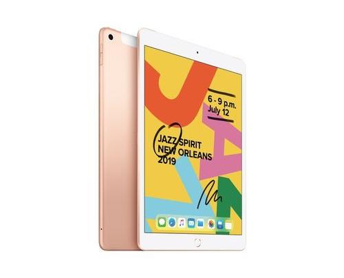 "Apple iPad WI-FI + CELLULAR 128 GB Gold - 10,2"" Tablet - A10 2,4 GHz 25,9cm-Display"