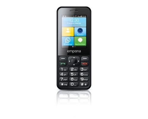 Emporia TALKsmart 6,1 cm (2.4 Zoll) 0,512 GB 4 GB Single SIM 4G Schwarz 1400 mAh
