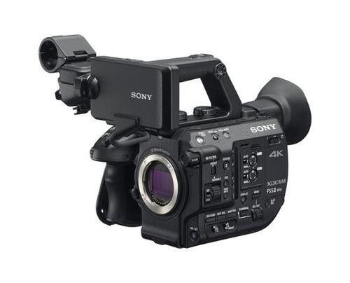 Sony FS5 II CMOS Handkamerarekorder Schwarz 4K Ultra HD
