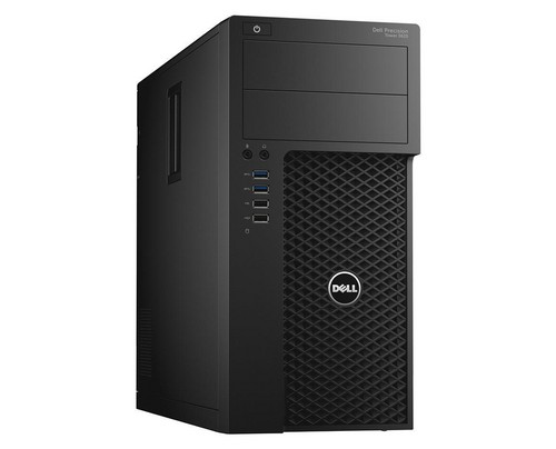 DELL Precision T3620 3.6GHz i7-7700 Mini Tower Schwarz Arbeitsstation