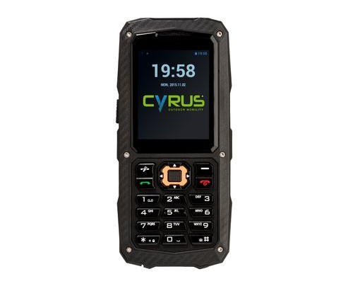 Cyrus Technology Cyrus CM 8 - Balken - Dual-SIM - 5,59 cm (2.2 Zoll) - 1,3 MP - 1700 mAh - Schwarz
