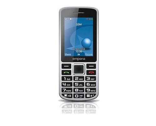 Emporia Mobiltelefone - Balken - 5 MP - Bluetooth - Schwarz - Grau
