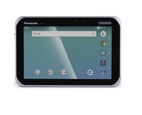 Panasonic Toughbook FZ-L1 - 17,8 cm (7 Zoll) - 1280 x 720 Pixel - 16 GB - 3G - Android 8.1 - Schwarz - Silber