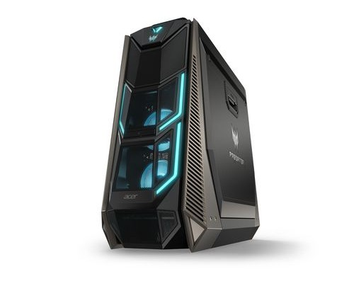 Acer PO9-900 3,3 GHz Intel® Core X-Serie i9-7900X Schwarz, Blau Tower PC