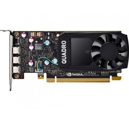 HP NVIDIA Quadro P400 Grafikkarte mit 2 GB - 2 GB - GDDR5 - 64 Bit - 5120 x 2880 Pixel - PCI Express 3.0