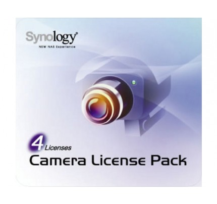 Synology Device License 4 Kamera - Software - Elektronisch/Lizenzschlüssel