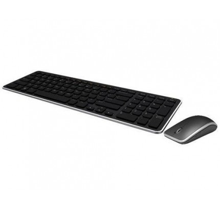 DELL KM714 RF Wireless QWERTY Englisch Schwarz