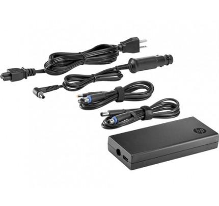 HP 90 W Flacher Kombiadapter mit USB