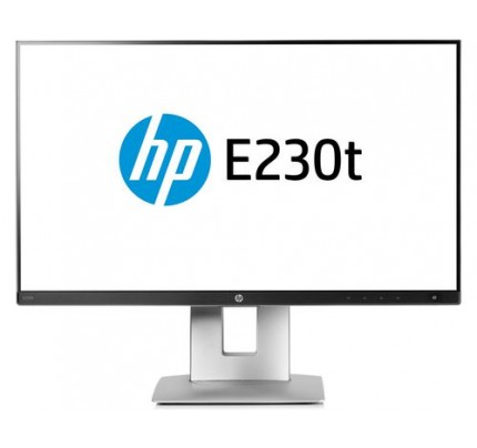 HP EliteDisplay E230t Touchscreen-Monitor - 58,42 cm (23 Zoll)
