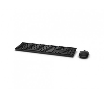 Dell Wireless KM636 French AZERTY Black - Tastatur - AZERTY