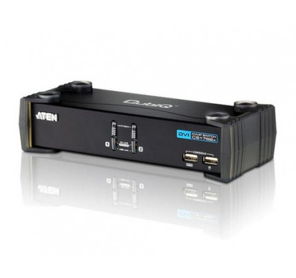 ATEN CS1762A - USB - USB - 1920 x 1200 Pixel - Schwarz - Verkabelt
