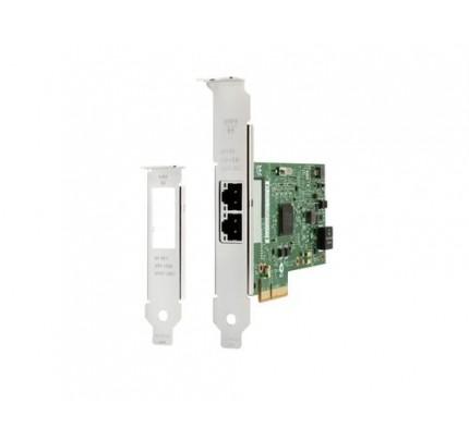 HP Intel Ethernet I350-T2 - zwei Anschlüsse - 1 Gbit - NIC - Eingebaut - Verkabelt - PCI Express - Ethernet - 1000 Mbit/s