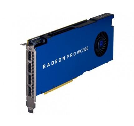 HP AMD Radeon Pro WX 7100 8 GB Grafikkarte - Radeon Pro WX 7100 - 8 GB - GDDR5 - 256 Bit - 5120 x 2880 Pixel - 1 Lüfter