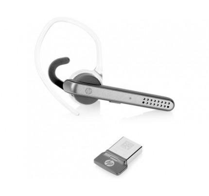HP UC Wireless Mono-Headset - Kabellos - Ohrbügel - im Ohr - Monophon - Im Ohr - 7,9 g - Schwarz - Grau