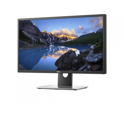 DELL UltraSharp UP2718Q 27Zoll 4K Ultra HD IPS Matt Schwarz, Silber Computerbildschirm