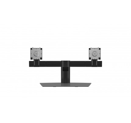 DELL Dual Monitor Stand 68,6 cm (27 Zoll) Aluminium, Schwarz