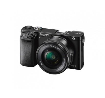 "Sony alpha 6000 - Digitalkamera - 24,3 MP CMOS - Display: 7,62 cm/3"" TFT - Schwarz"