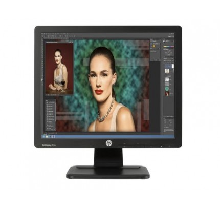 "HP P17A 17"" LED Backlit Monitor Black - Flachbildschirm (TFT/LCD) - 43,2 cm"