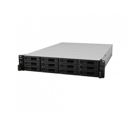 Synology RX1217RP Disk-Array Rack (2U) Schwarz, Grau