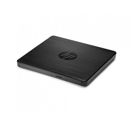 HP Externes USB-DVD-RW-Laufwerk - Schwarz - Notebook - DVD±RW - USB 2.0 - 24x - 8x