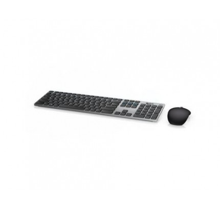 DELL 580-AFQI RF Wireless + Bluetooth QWERTY Italienisch Schwarz