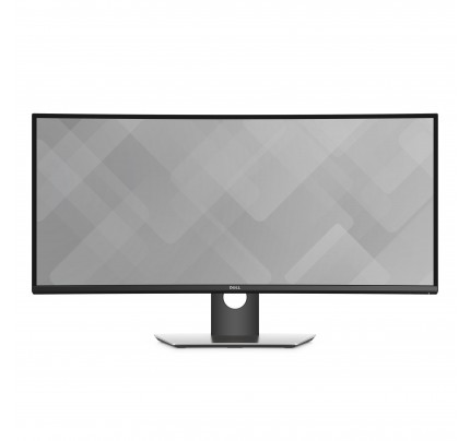 DELL UltraSharp U3417W LED display 86,7 cm (34.1 Zoll) Ultra-Wide Quad HD Gebogen Schwarz